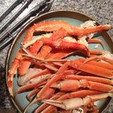 Alaska crab legs Stock Photography