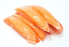 Alaska crab sticks Imitation food Royalty Free Stock Image
