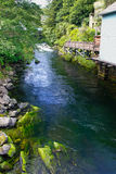 Alaska Creek Street Creek in Ketchikan Royalty Free Stock Image