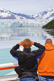Alaska Cruise Better View of Hubbard Glacier 2 Royalty Free Stock Photos