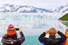 Alaska Cruise Memories at Hubbard Glacier Royalty Free Stock Images