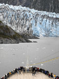 Alaska - Cruise Ship - Margerie Glacier Royalty Free Stock Photo