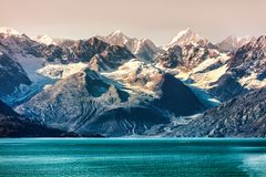 Free Alaska Cruise Travel In Glacier Bay National Park Royalty Free Stock Images - 156883859
