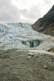 Alaska - Davidson Glacier Royalty Free Stock Photo