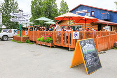 Alaska Denali Brewing Empresa Talkeetna Imagens de Stock Royalty Free
