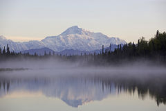 Alaska Denali Mountain Royalty Free Stock Photo