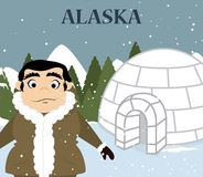 Alaska design Stock Image