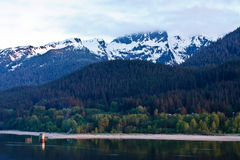 Alaska'a Douglas Island Royalty Free Stock Images