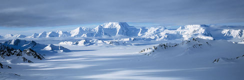 alaska Elias lodowów gór park narodowy st wrangell obrazy royalty free
