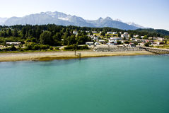 Alaska - Enjoy The View Of Haines Royalty Free Stock Photography