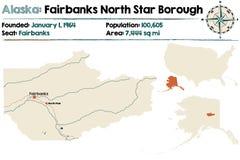 Alaska: Fairbanks and North Star Borough. Stock Image