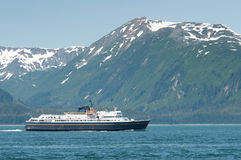 Alaska ferry Royalty Free Stock Image