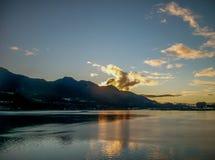 Alaska fjärd Royaltyfri Fotografi