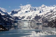 alaska fjärdglaciär Arkivbilder