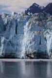 alaska fjärdglaciär Arkivbild
