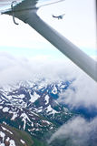 Alaska - Flying Small Planes from Homer Stock Photo