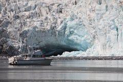 alaska góra lodowa kenai np zdjęcie stock