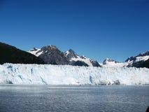 Alaska glaciär Arkivbild
