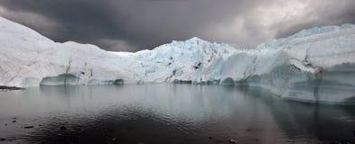 alaska glaciär Arkivbilder