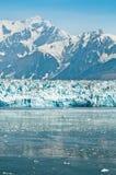 alaska glaciärhubbard Royaltyfria Bilder