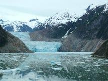 Alaska - glaciar 3 del brazo de Tracy Fotografía de archivo