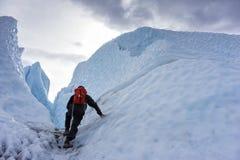 Alaska Glacier Hiking Royalty Free Stock Photo