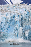 Alaska Glacier Ice Calving Royalty Free Stock Photography