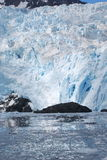 Alaska Glacier Landscape. An Alaska glacier in Seward Alaska on a summer day Stock Photos