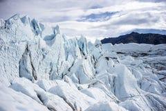 Alaska Glacier Up Close Stock Images