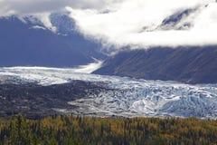Alaska Glennhighway en otoño foto de archivo