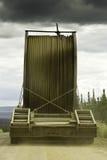Alaska, heavy truck royalty free stock photography