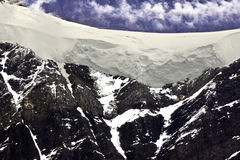 Alaska, high mountains Royalty Free Stock Photography