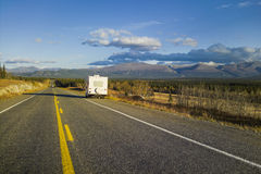 Alaska Highway, Alaska, USA Stock Photography