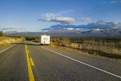 Alaska Highway, Alaska, USA stock photography