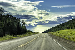 Alaska Highway Royalty Free Stock Photo