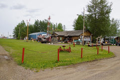 Alaska Highway Fort Nelson Stock Photography