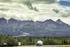 Alaska Highway Royalty Free Stock Image