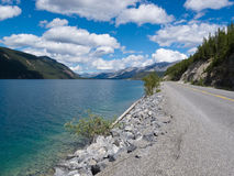 Alaska Highway Muncho Lake Prov Park BC Canada Royalty Free Stock Image