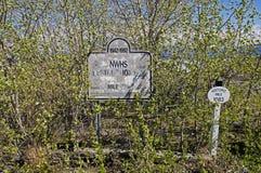 Alaska Highway Rest Stop. Historic Mile 1083 in Destruction Bay, Yukon Territory, Canada Royalty Free Stock Photos