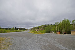 Alaska Highway Rest Stop Stock Image