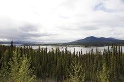 Alaska Highway River Bridge Stock Photos