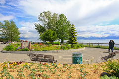 Alaska - Homer Baycrest Overlook Rest Area Royalty Free Stock Photography