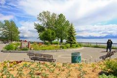 Alaska - homer Baycrest Przegapia Spoczynkowego teren fotografia royalty free