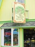Alaska - Homer Restaurant Spit Sisters Stock Images
