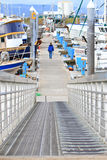 Alaska - Homer Spit Boat Harbor Access Ramp Stock Photography