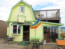 Alaska - Homer Spit Sisters Cafe Stock Photo