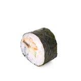 Alaska hosomaki sushi isolated Stock Image
