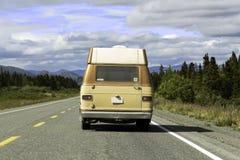 alaska huvudväg Royaltyfri Fotografi