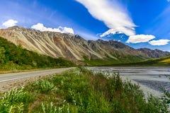 Alaska i sommar Arkivfoto