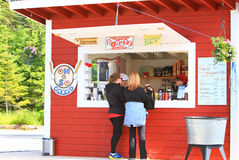 Free Alaska Icy Strait Point Donut Shop Royalty Free Stock Images - 29268059